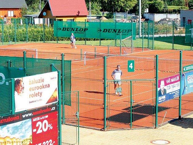 Tenisové centrum Opava.