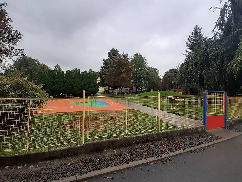 Mateřská škola v Háji ve Slezsku.