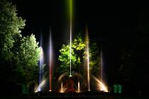 Hasiči z Jamnice představí unikátní vodní světelnou fontánu