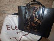 Kabelka z kolekce Dany Morávkové, kterou věnoval opavský butik La Gabriella spolu s výrobcem kabelek, firmou Elega.