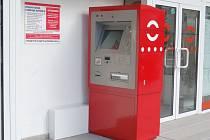 Předprodejní automat na Horním náměstí.