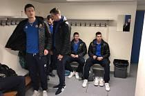 Opavští basketbalisté v dějišti zápasu basketbalové Ligy mistrů.