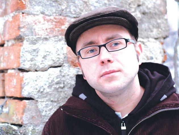 Dan Jedlička, spoluzakladatel nakladatelství Perplex v Opavě.