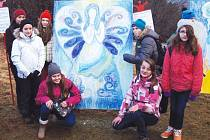Za tento obraz si žáci Základní školy T. G. Masaryka odvezli pohár vítězství.
