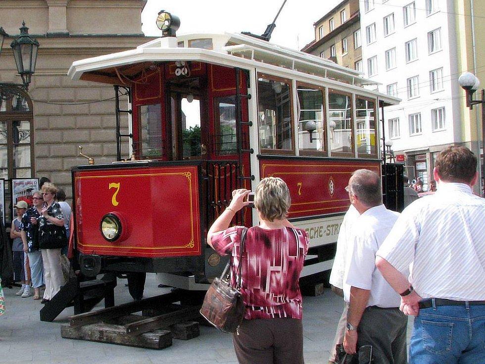 Tramvaj číslo 7 se projela Opavou naposledy 22. dubna v roce 1956.