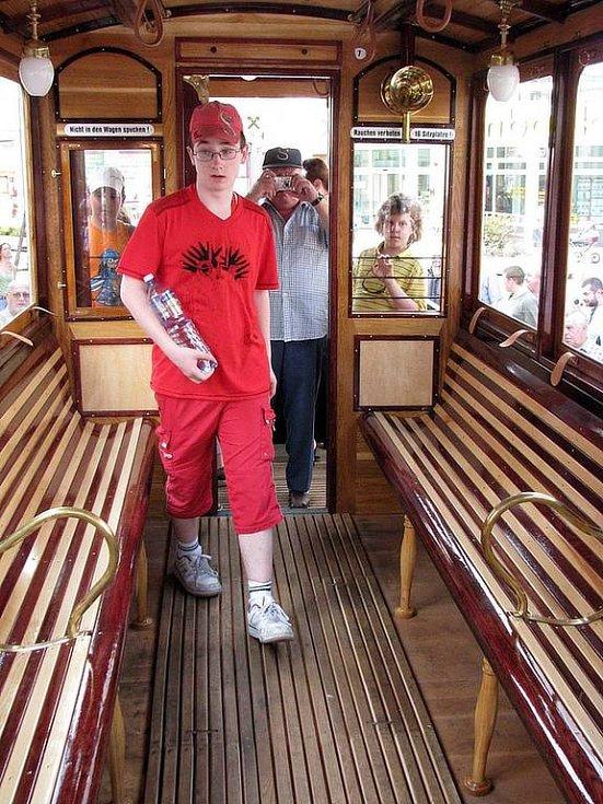 Do Opavy se v úterý 27. května vrátila tramvaj.