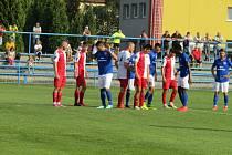 Fotbalisté Dolního Benešova doma prohráli. Foto: Petr Krömer