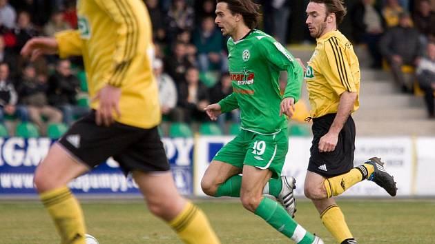 Jiří Dobeš (v zeleném)