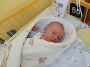 Jáchym Žvaka se narodil 15. srpna 2017, vážil 3,26 kilogramů a měřil 48 centimetrů. Rodiče Jolana a Jan z Bolatic mu přejí hlavně zdraví a Boží požehnání. Na Jáchyma už doma čeká bráška Max.