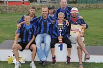 Vítězný tým Pustkovce.