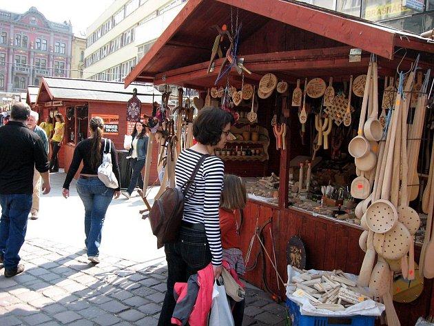 Velikonoční trhy v Opavě. Ilustrační foto.