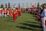 Dvoudenní mezinárodní fotbalový turnaj dětí ročníku 2011 a mladších Moravskoslezský Cup v Kravařích.