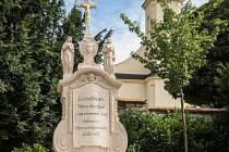 Rekonstrukce kříže stála více než 130 tisíc korun.