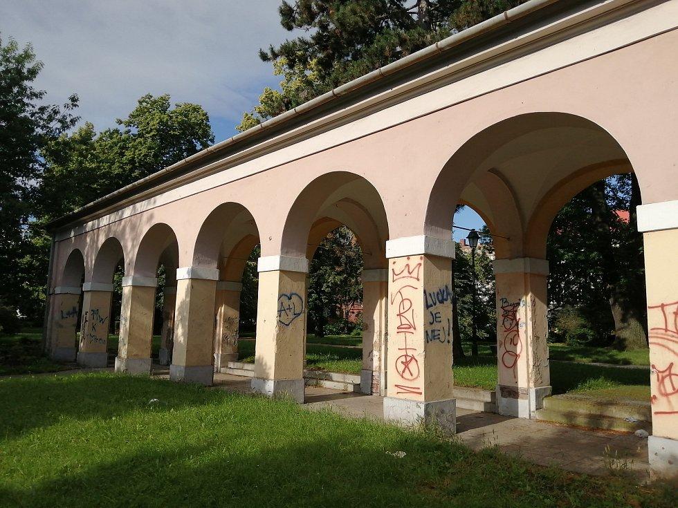 Arkády v Opavě.