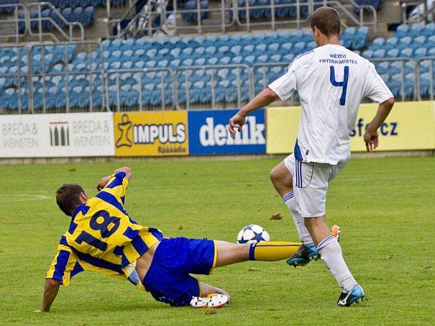 Slezský FC Opava - Fotbal Frýdek-Místek 1:3