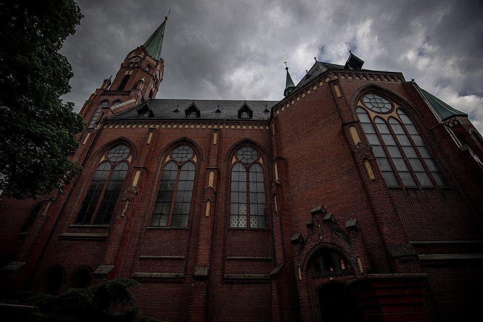 Noc kostelů v kostele sv. Mikuláše, 28. května 2021 v Ludgeřovicích