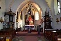 Kostel v Raduni.