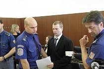 Martin Balhar byl odsouzen za vraždu poštovní úřednice ve Skřipově.