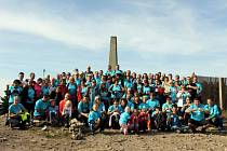 Výstupu se zúčastnilo 113 osob.