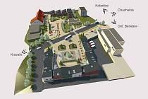 Takto by mohlo v budoucnu vypadat centrum Bolatic.