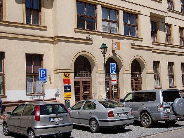 Opavská hlavní pošta. Ilustrační foto.