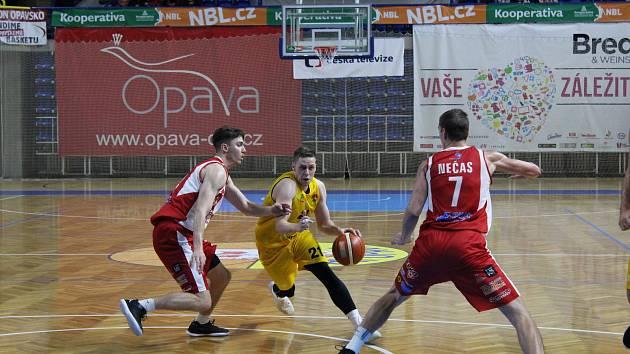 KOOPERATIVA NBL: BK Opava – Pardubice 85:86 (29:20, 52:44, 67:59)