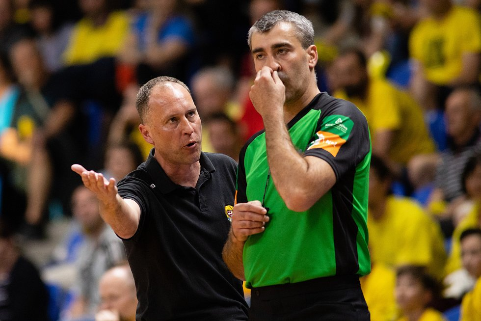 Petr Czudek - úspěšný trenér basketbalové Opavy