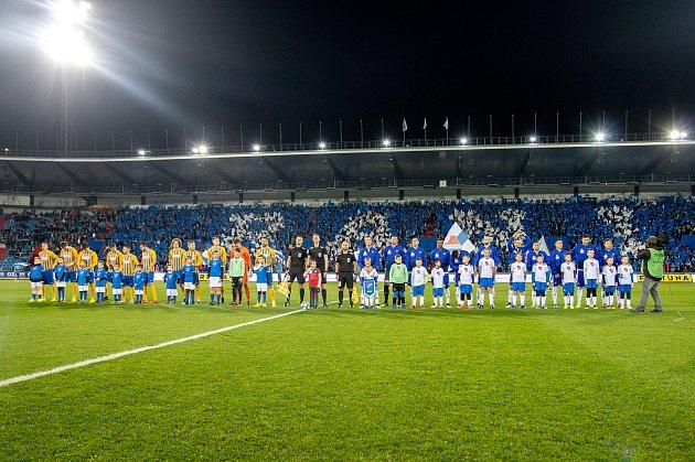 Utkání 18.kola fotbalové Fortuna ligy: FC Baník Ostrava - SFC Opava, 29.listopadu 2019vOstravě.