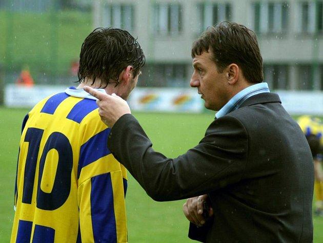 Prestižní utkání čeká na opavského kouče Jiřího Nečka. Opava hostí jeho mateřský klub Sigmu Olomouc.