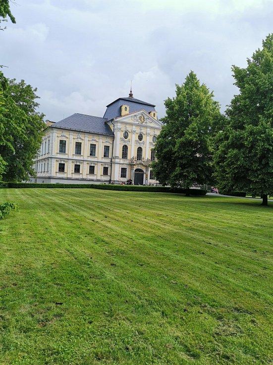 Zámek v Kravařích je perlou regionu.