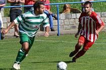 Martin Dombi (v zelenobílém)