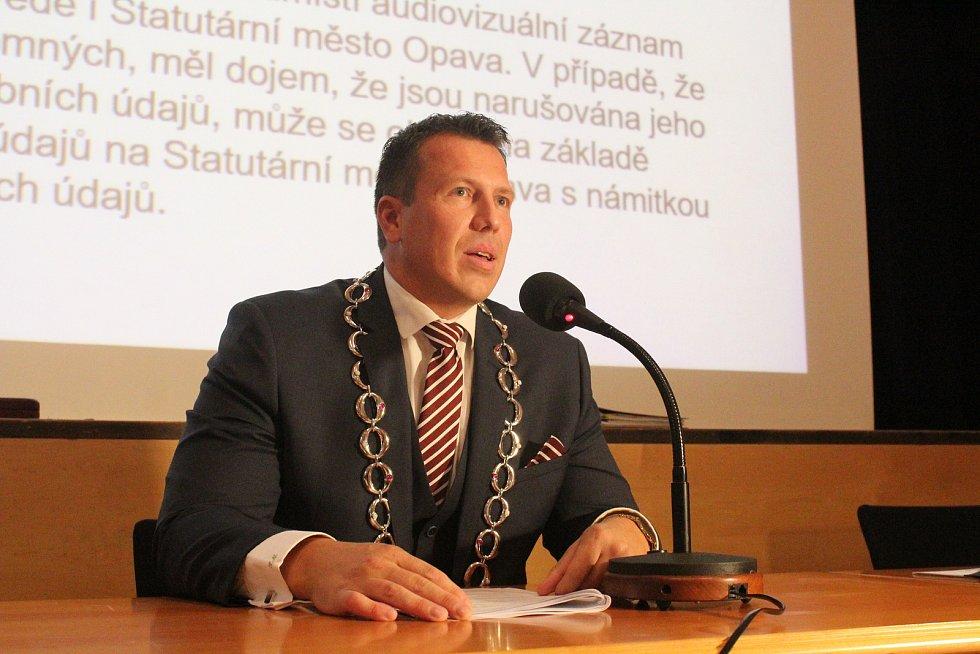 Primátor města Opavy Tomáš Navrátil.