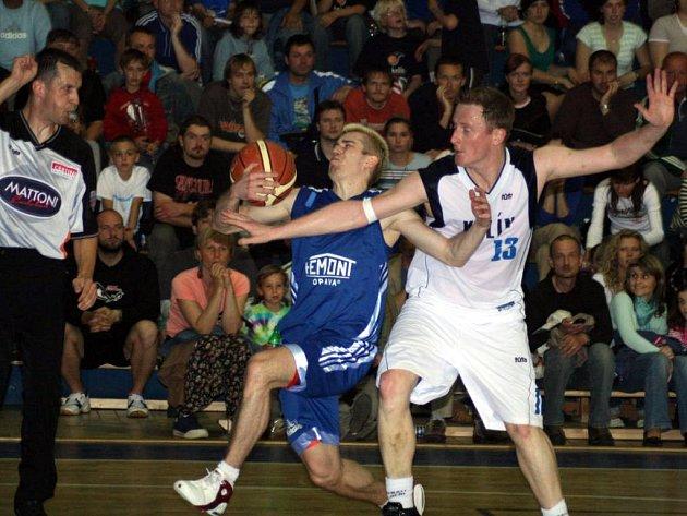 Opavští basketbalisté neuspěli v pátém, rozhodujícím finálovém zápase II. ligy v Kolíně a do první ligy nepostoupí.