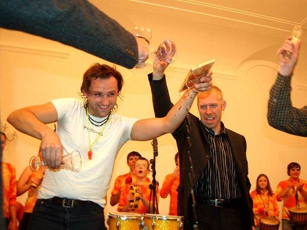 Seskupení Boris pokřtilo v minoritském klášteře své první cédéčko.