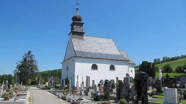 Hřbitovní kostelík sv. Jakuba. Foto: archiv Informačního střediska Hradec nad Moravicí