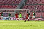 Stadion v Brně na Srbské.