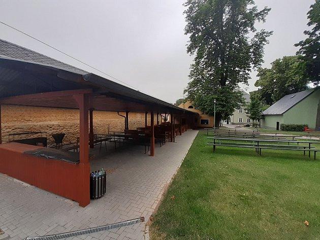 Zámecký park po revitalizaci.