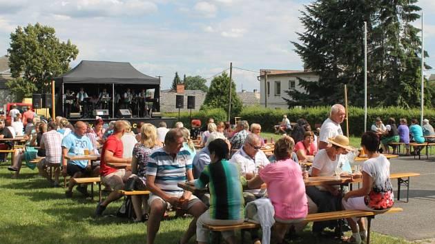 Návštěvníci slavnosti mohli sledovat například vystoupení dechové kapely Kobeřanka.
