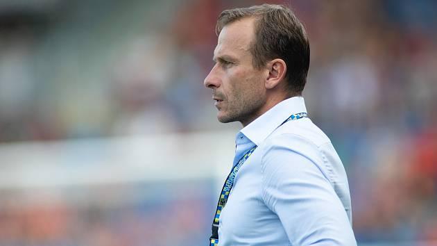 Ivan Kopecký, trenér SFC Opava. Ilustrační foto.