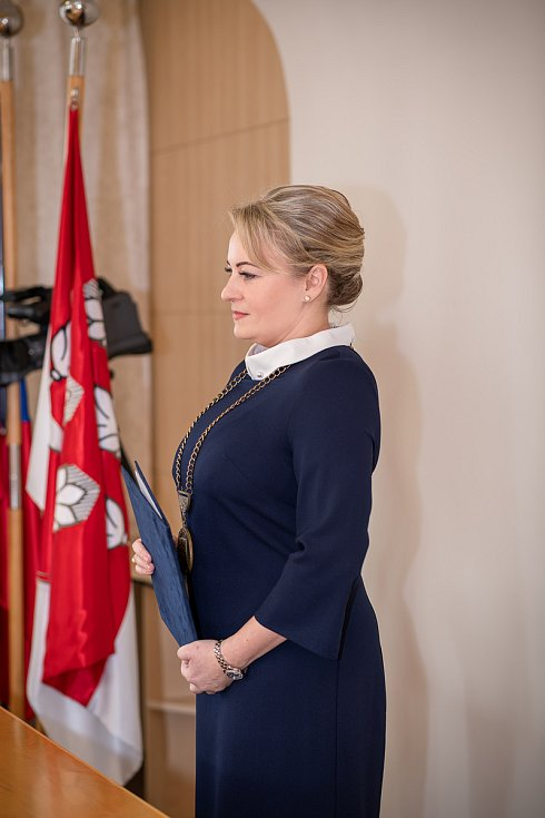 Starostka Zuzana Kašná.