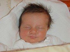 """Evelína Burdová se narodila 29. ledna, vážila 2,91 kg a měřila 49 cm. """"Doma už na miminko čeká sestřička Madlenka. Miminku přejeme hlavně zdraví a štěstí,"""" řekla maminka Zuzana a tatínek Vítězslav Burdovi z Opavy."""