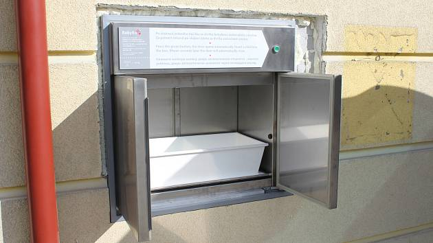 Opavský babybox je modernější.