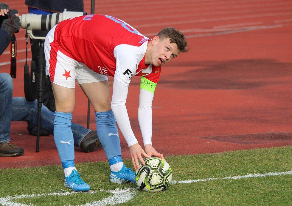 Přípravný zápasSlavia - Ústí 0:1 (0:0)Patrik Hellebrand