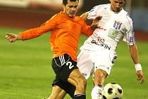 Michal Vyskočil (v oranžovém dresu Fulneku)
