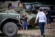 14. ročník výstavy vojenské techniky, který pořádal klub vojenské historie Deštné.