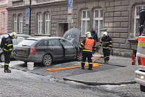 Požár na elektroinstalaci způsobil škodu za 200 tisíc korun.