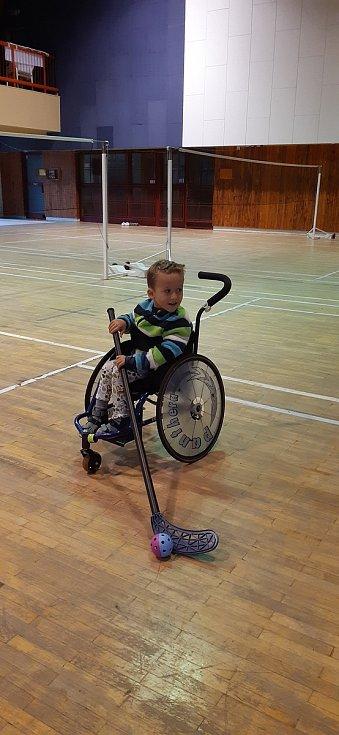 Přemeček Ulman trpí od narození vrozeným genetickým onemocněním SMA (Spinální muskulární atrofie).
