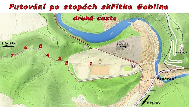 Druhá cesta skřítka Goblina ve Vítkově.