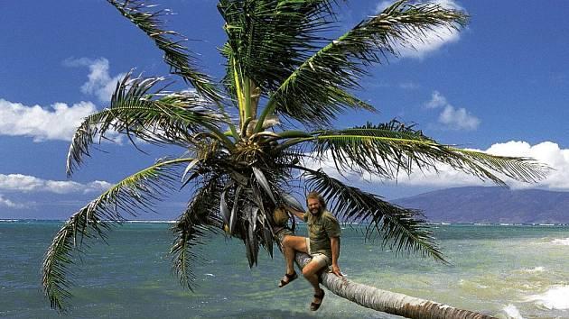 Leoš Šimánek na Havaji.