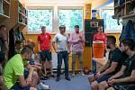 Zahájení přípravy SFC Opava, červen 2019.